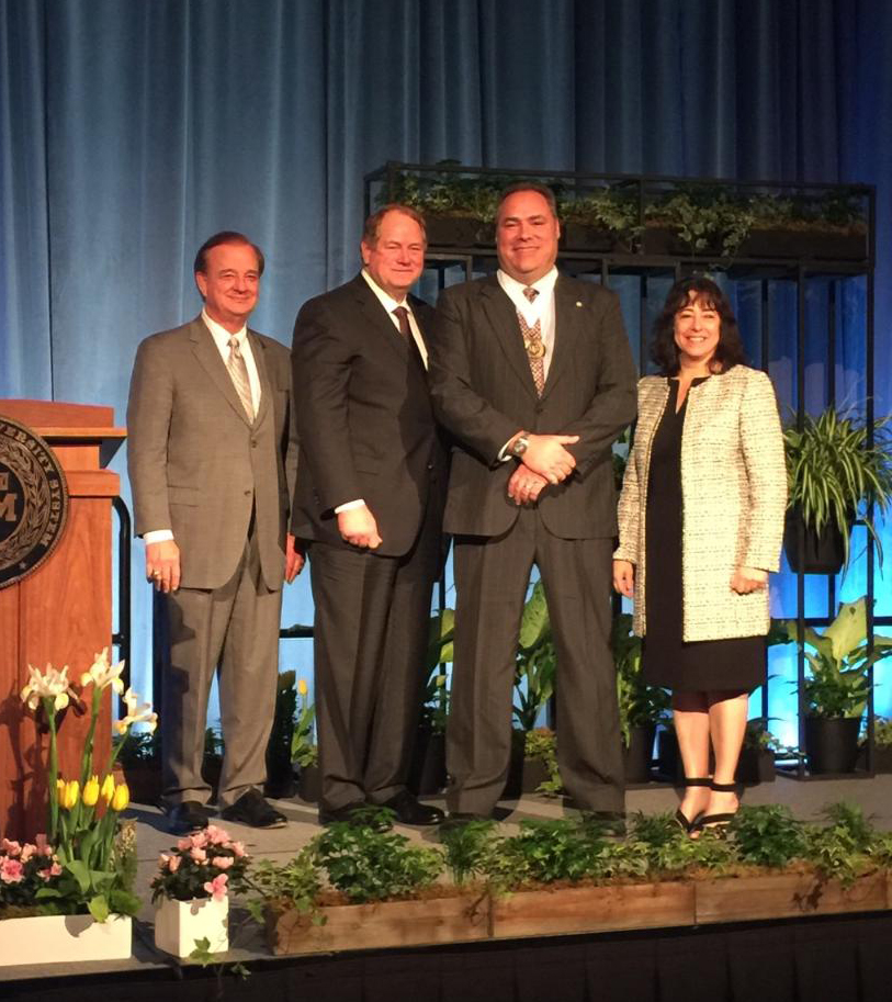 <p>Feb. 9, 2017 — COLLEGE STATION, Texas — Donald Galloway of Texas A&M Forest Service was awarded the 2017 Regents Fellow Service Award from the Texas A&M University System Board of Regents.  